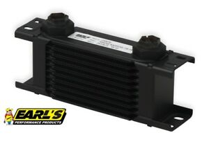 Earls Ultrapro Narrow Oil Cooler P N 210erl 10 Row Cooler Only Free Ship