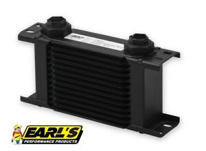 Earls Ultrapro Narrow Oil Cooler P N 213erl 13 Row Cooler Only Free Ship