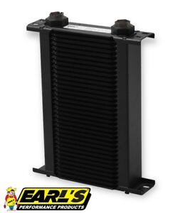 Earls Ultrapro Narrow Oil Cooler P N 234erl 34 Row Cooler Only Free Ship