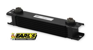 Earls Ultrapro Wide Oil Cooler P N 407erl 7 Row Cooler Only Free Ship