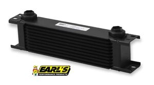 Earls Ultrapro Wide Oil Cooler P N 410erl 10 Row Cooler Only Free Ship