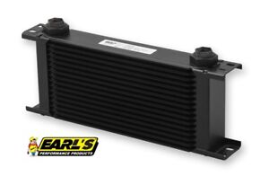 Earls Ultrapro Wide Oil Cooler P N 416erl 16 Row Cooler Only Free Ship