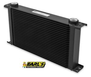 Earls Ultrapro Extra Wide Oil Cooler P N 825erl 25 Row Cooler Only Free Ship