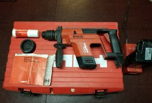 Hilti te 5a 24v cordless rotary hammer drill Has Charger Case Excellent Shape