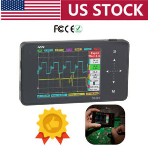 Arm Ds202 Portable Mini Handheld Touch Screen Digital Storage Oscilloscope Usa