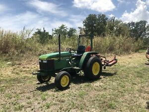 John Deere 870 Diesel Tractor Well Maintained Reliable With Pto Mower