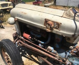 1959 Ford 800 Tractor Running Condition 12 Volt System 3 Point Hookup