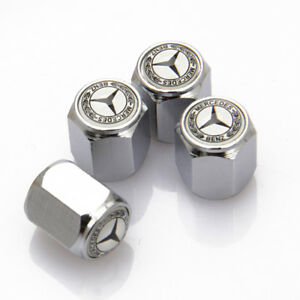 Universal Car Tire Valve Dust Stems Caps Covers Accessories For Mercedes Benz