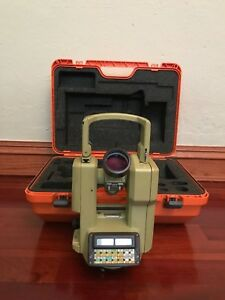 Wild Heerbrugg Sercel Theomat Wild T1600 Electronic Theodolite