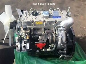 Perkins Diesel Engine 404c 22t Same As Cat 3024 Turbo C2 2 Skid Steer Engine