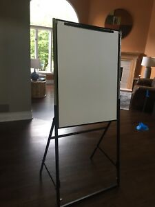 mobile Whiteboard Easy Setup Study With Stand 35x26 White Board