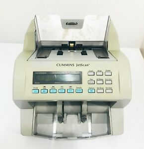 Cummins Jetscan Currency Counter Model 4062 Counts Mixed Bills Notes