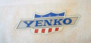 Yenko Fender rear Panel Dealer Emblem 1967 1970 Nova 67 70
