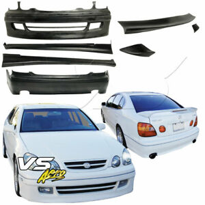 Vsaero Urethane Rm Body Kit W Wing 7pc For Lexus Gs Series Gs400 Gs300 98
