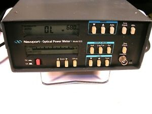 Newport Optical Power Meter Model 835 With Gpib