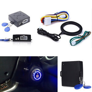 Car Ignition Switch Engine Start Push Button Keyless Entry Starter For Chevrolet