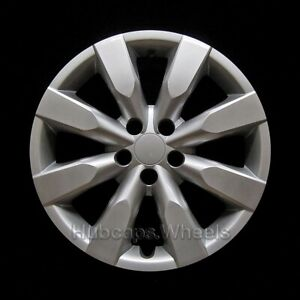 Hubcap For Toyota Corolla 2014 2016 New Premium Replica 16 Silver Wheel Cover