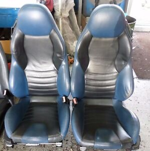 Bmw Z3 M Roadster Coupe Sport Seats Blue And Black