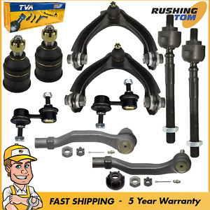 For Honda Crv Front Upper Control Arm Ball Joints Tie Rods Sway Bar Links 10pc