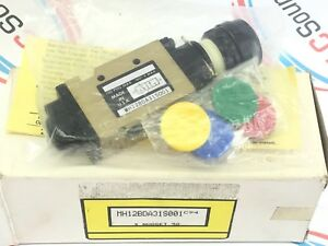 Mh12bda31s001 Push Button Actuated Pneumatic Valve