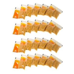 Individually Wrapped Kettle Popcorn Packs 24 Count Movie Style Oil Seasoning