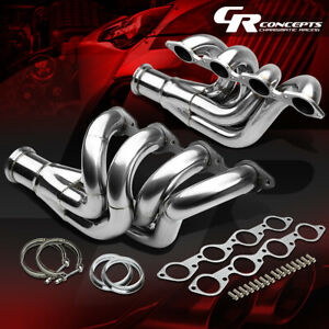 For Chevy Big Block Bbc 396 572 454 Stainless Up forward Exhaust Manifold Header