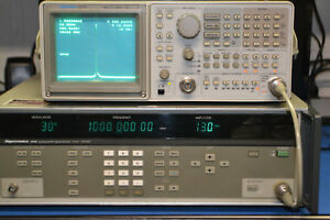 Tektronix 2712 Rf Spectrum Analyzer W tracking Generator Gpib