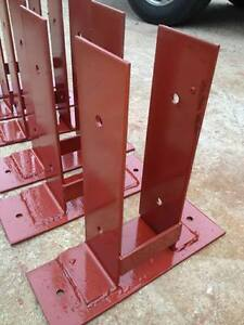 20 Pole Barn Surface Mounting Dry Set Post Anchor Wood To Concrete Mount