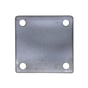4 X 4 Square Flat Steel Metal Base Plate 3 16 Thickness 3 8 Hole Qty 4