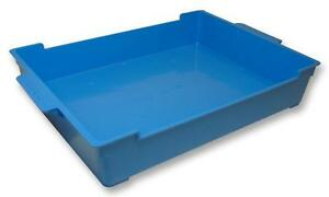 Inter Stackable Work Trays Blue X 10 Storage Boxes Inter Stackable Work