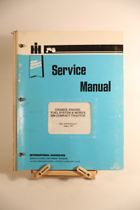 Ih International 284 Compact Tractor Service Manual Gss 1478 Rev 1 Factory Oem