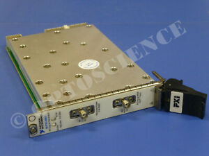 National Instruments Ni Pxi 5651 Rf Analog Signal Generator 3 3ghz