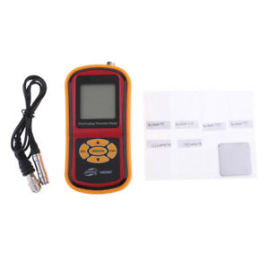 Easy Install Safety Gm280f Digital Film Coating Thickness Gauge Tester