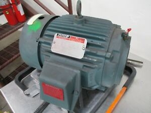 Reliance Ai Duty Master Ac Motor P18g3899a 1 5hp 1800rpm 460v 2a 60hz 3ph Used
