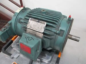 Reliance Vxs Variable Speed Motor 01mlj5246 C002da 2hp 1160 2300rpm 230v Used