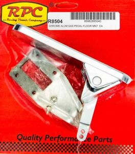 Racing Power Co Floor Mount Gas Rectangle Pedal Assembly P n R8504