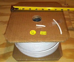 450 ft 10 Awg 600v 105 c White Fine Stranded Flexible Copper Hookup Wire Mtw Awm
