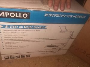 New Apollo Horizon Overhead Projector
