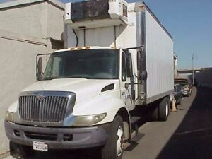 2006 International 4300 Refrigerator Truck