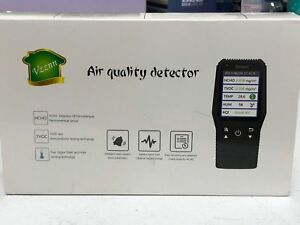 Vzznn Indoor Air Quality Detector Accurate Testing Formaldehyde Monitor