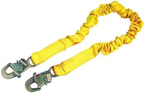 Dbi sala Shockwave 2 1244306 6 foot Shock Absorbing Lanyard Yellow