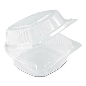 Smartlock Food Containers Clear 20oz 5 3 4w X 6d X 3h 500 carton Yci81160