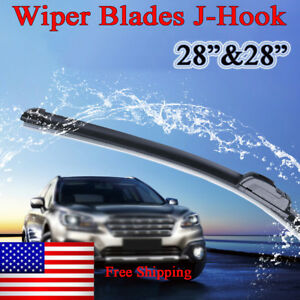 28 28 Windshield Wiper Blades Frameless Oem Quality Beam All Season Set Of 2