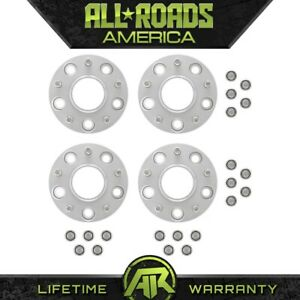 For Jeep Grand Cherokee Wj Wk 99 10 Billet 4 X 1 25 Hubcentric Wheel Spacers