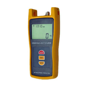 Fiber Optic Handheld Testing Tool Optical Light Source Tester 1310 1550 1490nm