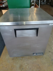 Used True 27 Under Counter Refrigerator Tuc 27 lp Cooler Low Profile Tuc 27