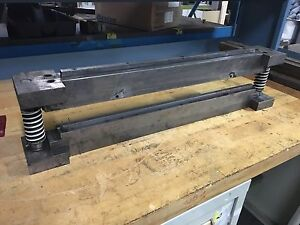 Contained Press Brake H frame Press 30 Die Plate