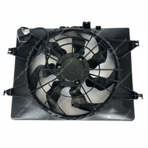 A C Condenser Radiator Cooling Fan Fit Kia Hyundai For Optima 11 14 Sonata 11 13