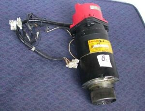 Fanuc Robot Servo Motor Ac 3 0f W Pulsecoder Cables Used Free S