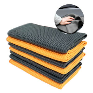 Microfiber Towel Soft Car Home Cleaning Wash Clean Wax Polishing Cloth 40cmx40cm